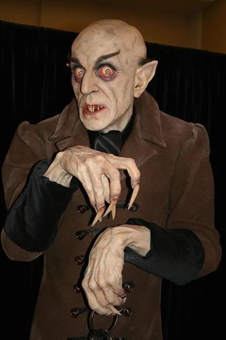 Mike Hill Life Size Sculptures Nosferatu 2