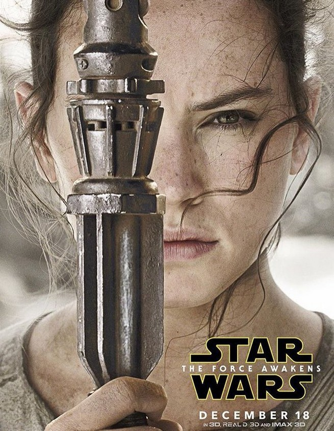 Rey character posters Sta Wars force awakens HD