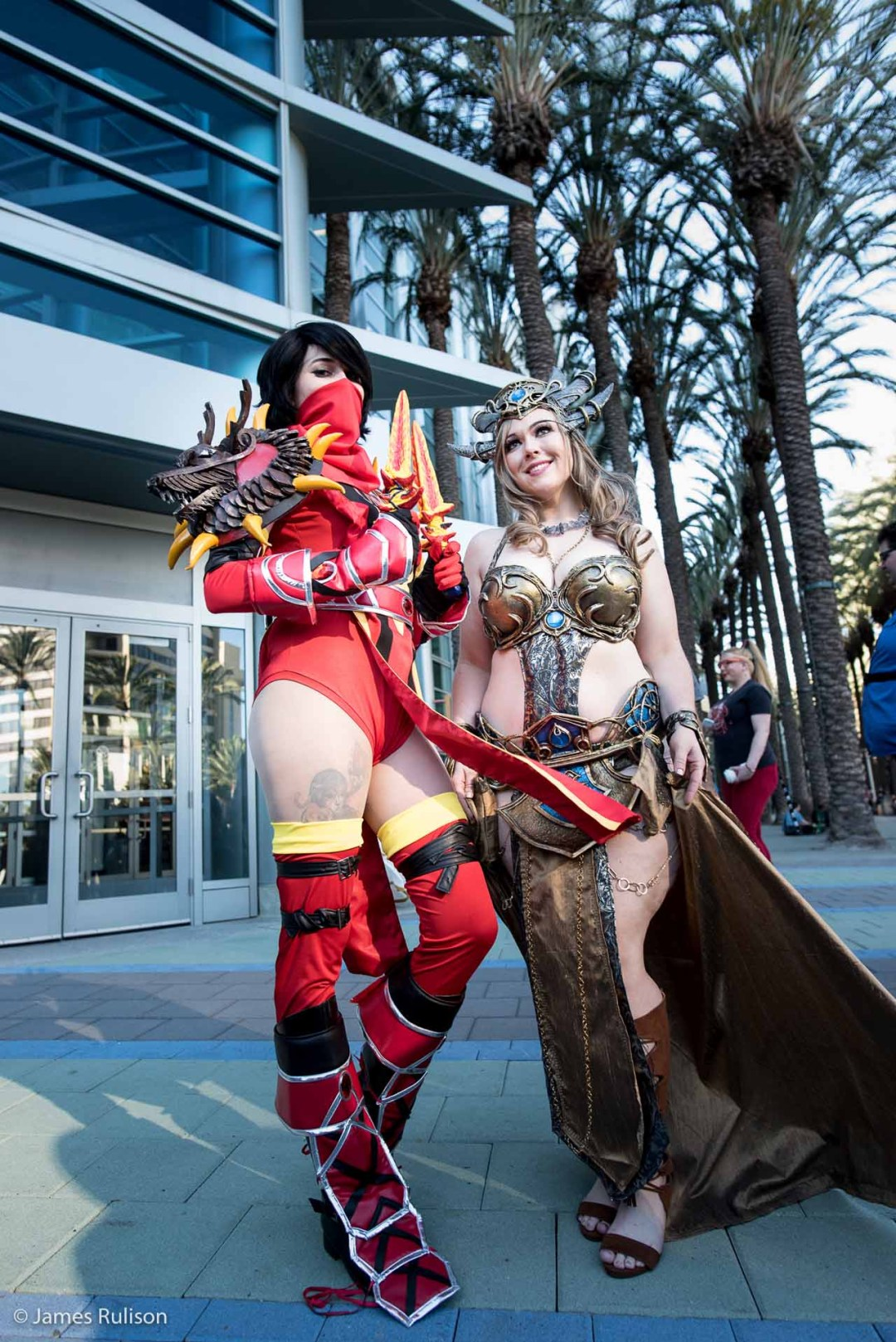 Sexy Top Cosplay Blizzcon 2015 7