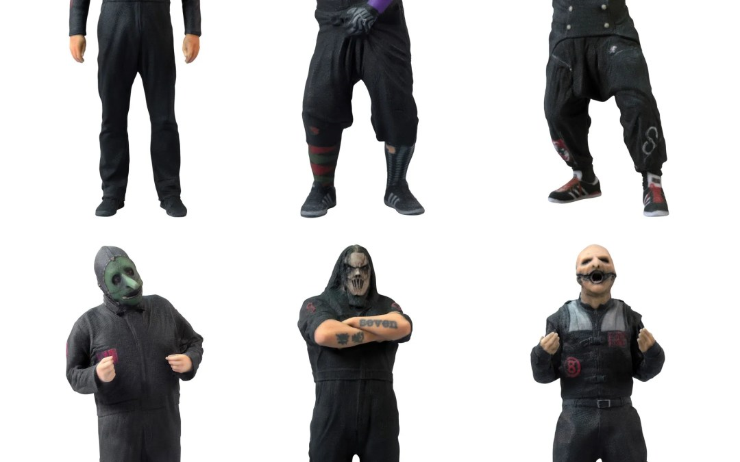 Hurry And Get Your SlipKnot Collectible Figurines Now Available