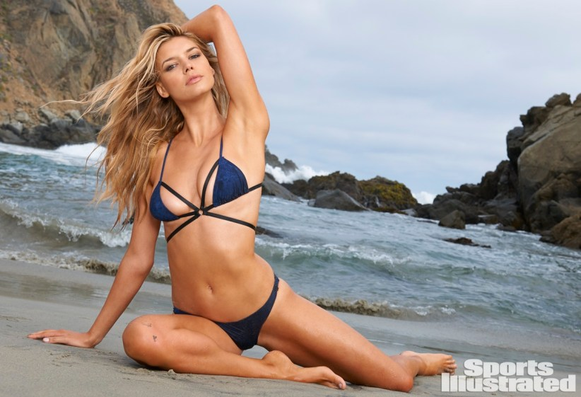 Swimsuit 2015: West Coast Shoot Kelly Rohrbach Various/NA, NA, USA 7/12/2014 X158431 TK3 Credit: Yu Tsai Swimsuit by: One Teaspoon