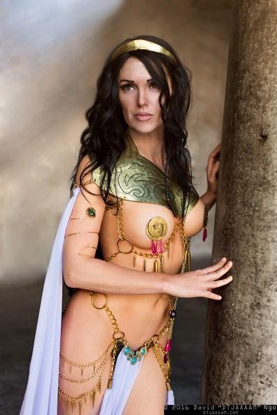 Jackie Goehner Cosplay Sexy 2016 Princess of Mars Dejah Thoris 2