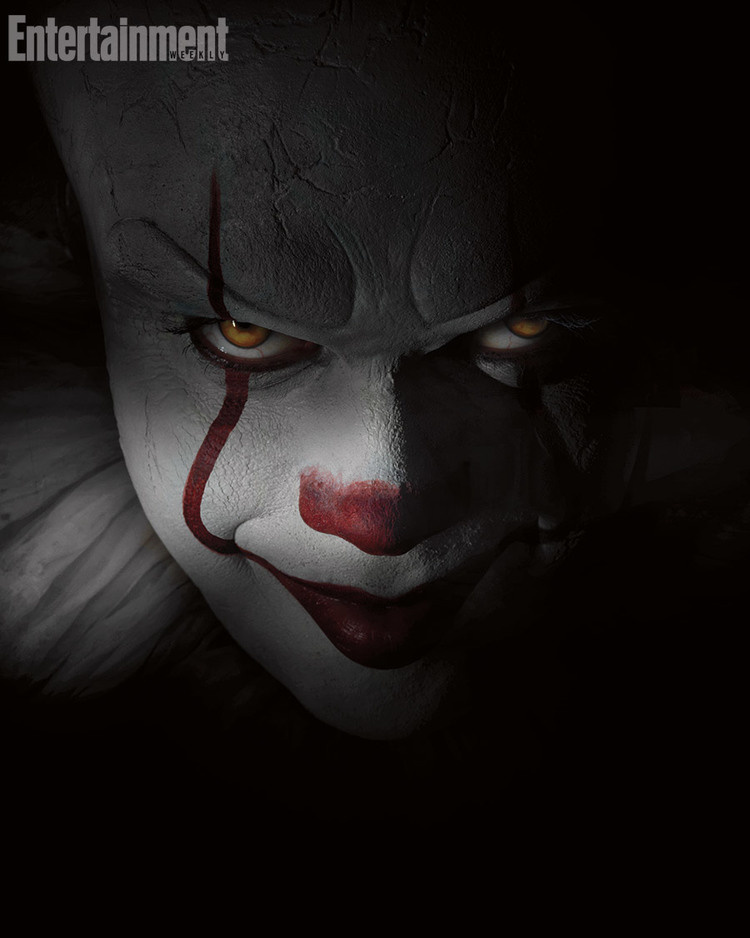 First look at Pennywise in IT reboot