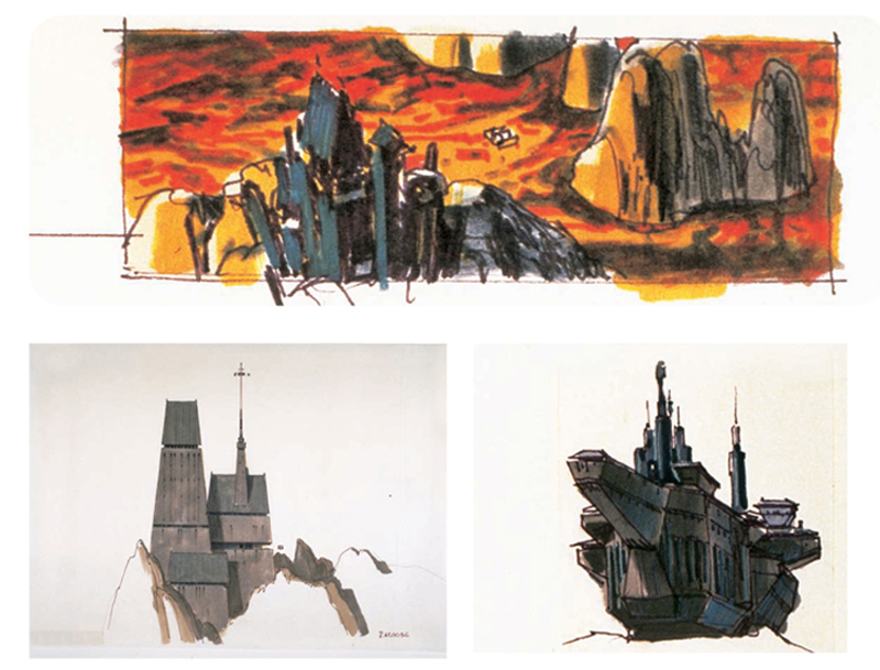 Unused Ralph McQuarrie Designs