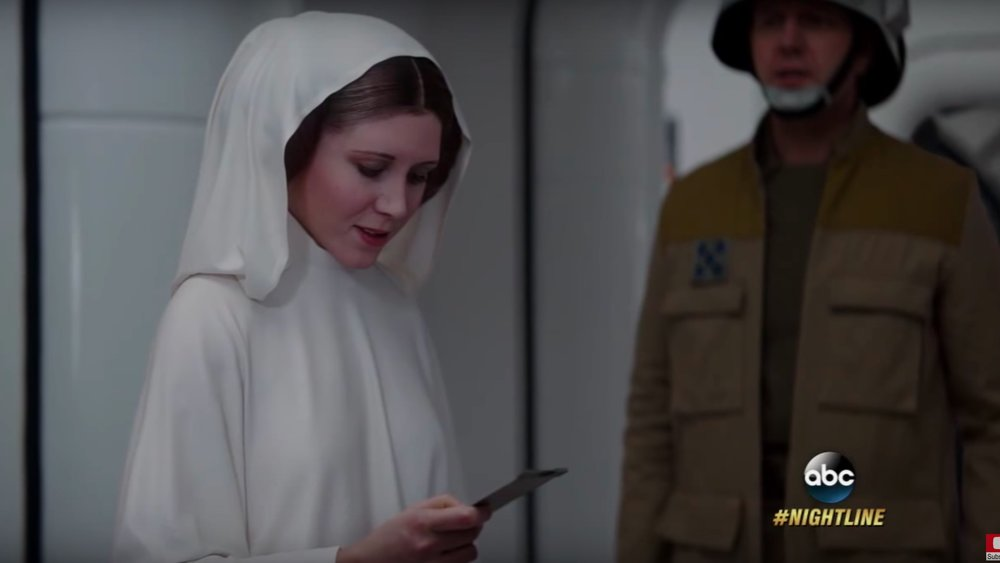 Video Details How ILM Created Princess Leia and Grand Moff Tarkin in ROGUE ONE