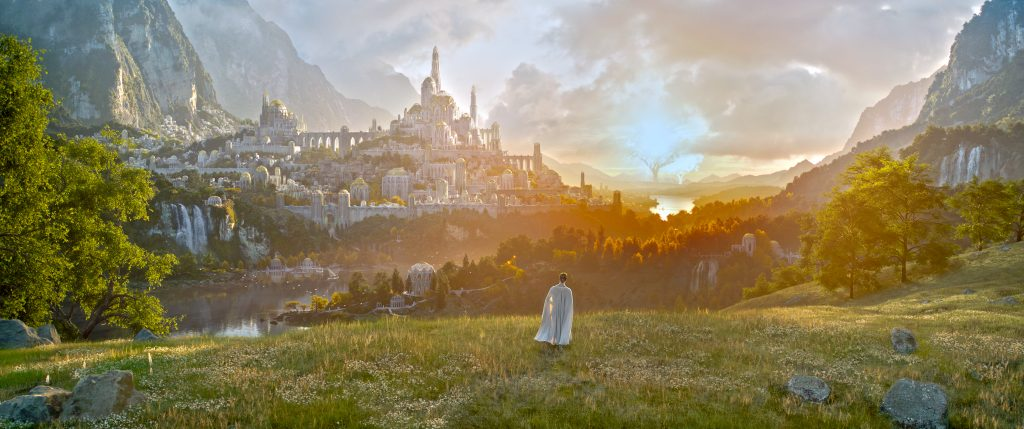 HD Image of the First Official look at Amazon Prime's Lord of the Rings Series