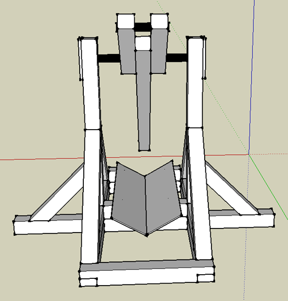 Tebuchet (Catapult) - from front