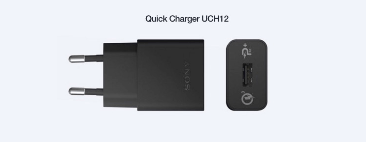 Sony Quick Charger UCH12, Charges within 10 minutes