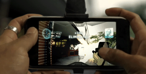 father.io augmented reality game