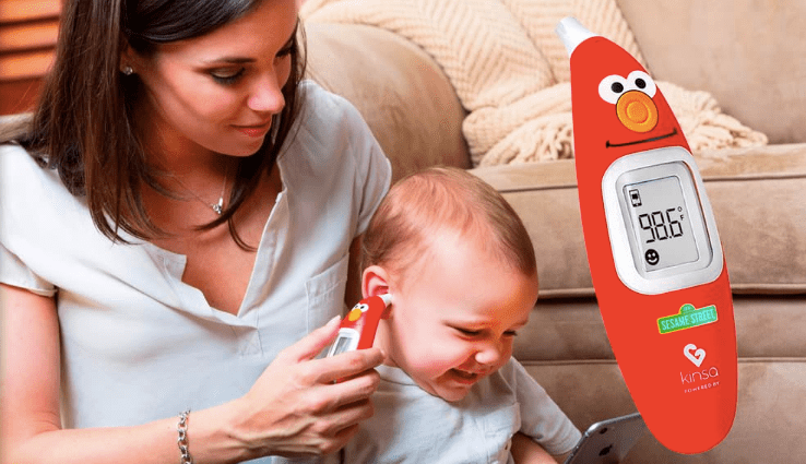Kinsa smart ear thermometer