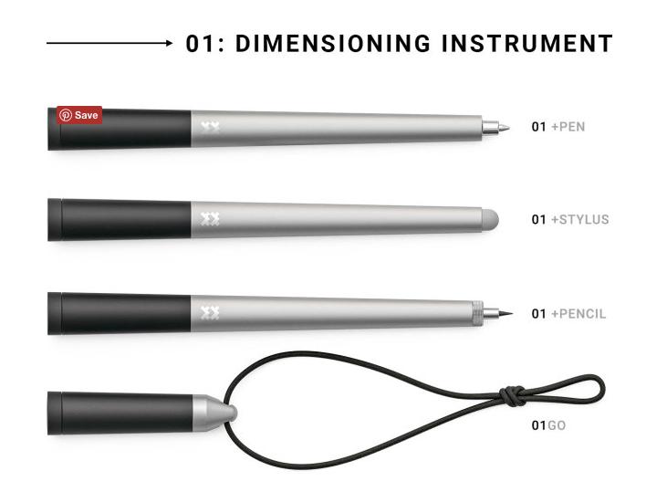 01: World's First Dimensioning Instrument