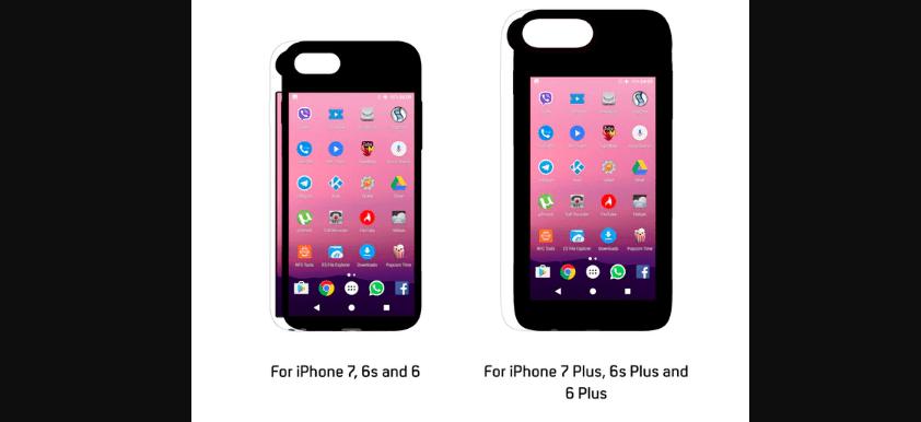 Th eye smart iphone case