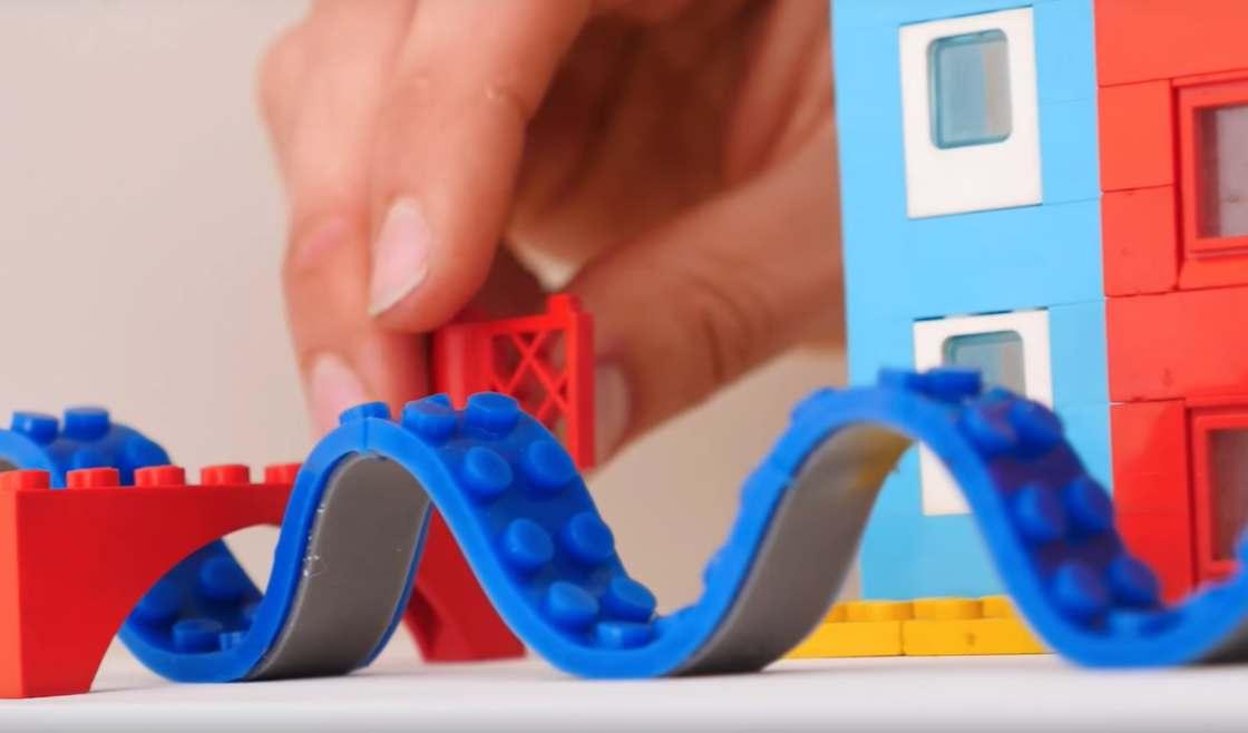 Lego adhesive tape