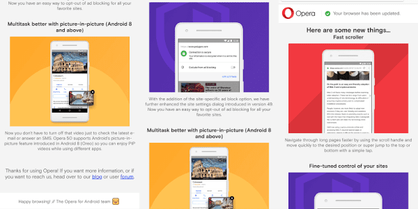 First publisher-friendly ad blocker in the new Opera for