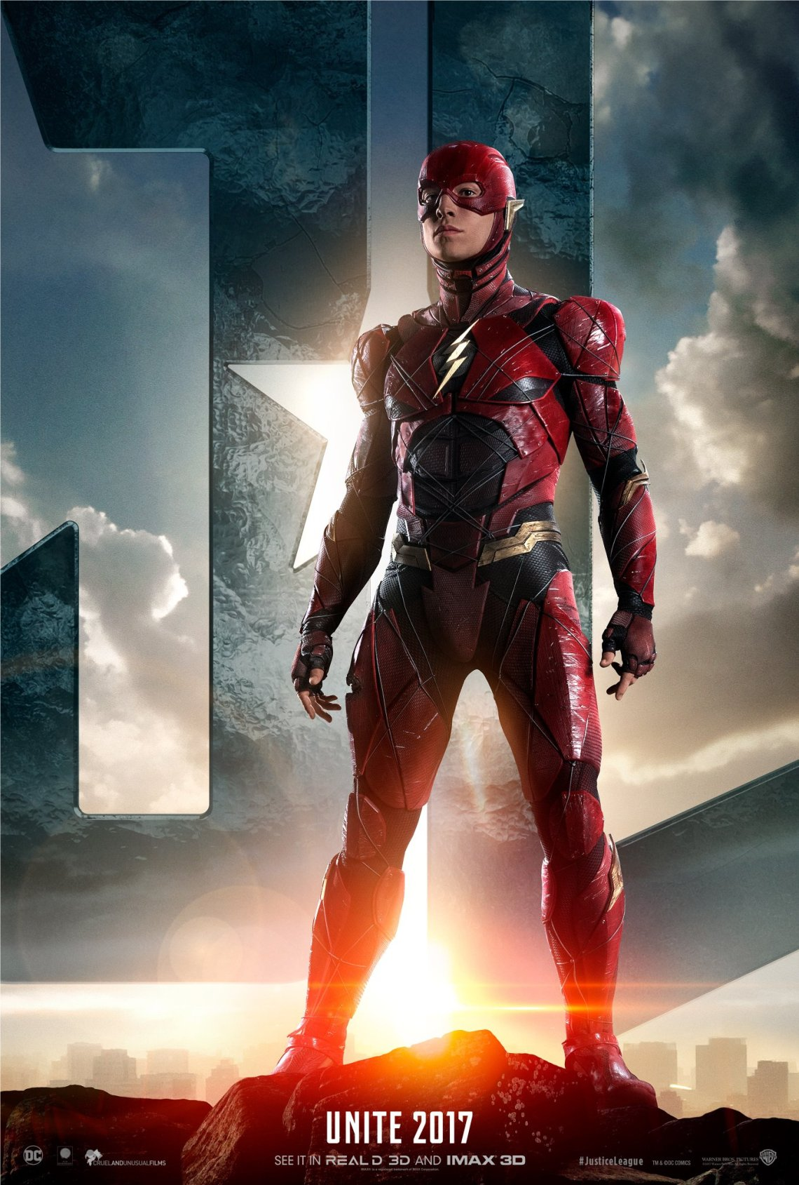 justice league-flash poster