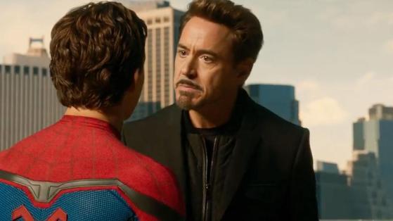 Spider-Man Tony