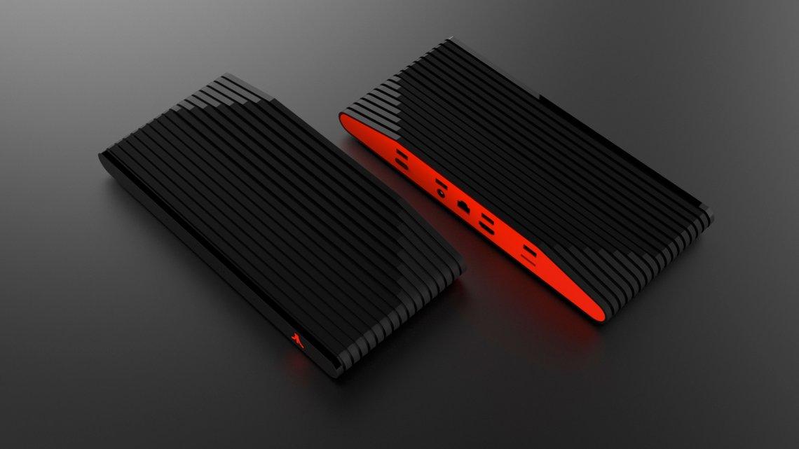 Black and Red Ataribox