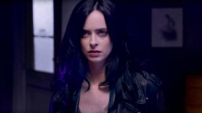 Krysten Ritter as Jessica Jones courtesy of Marvel/Netflix