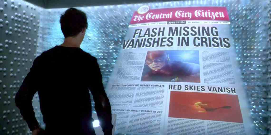 The-Flash-CW-Future-Newspaper