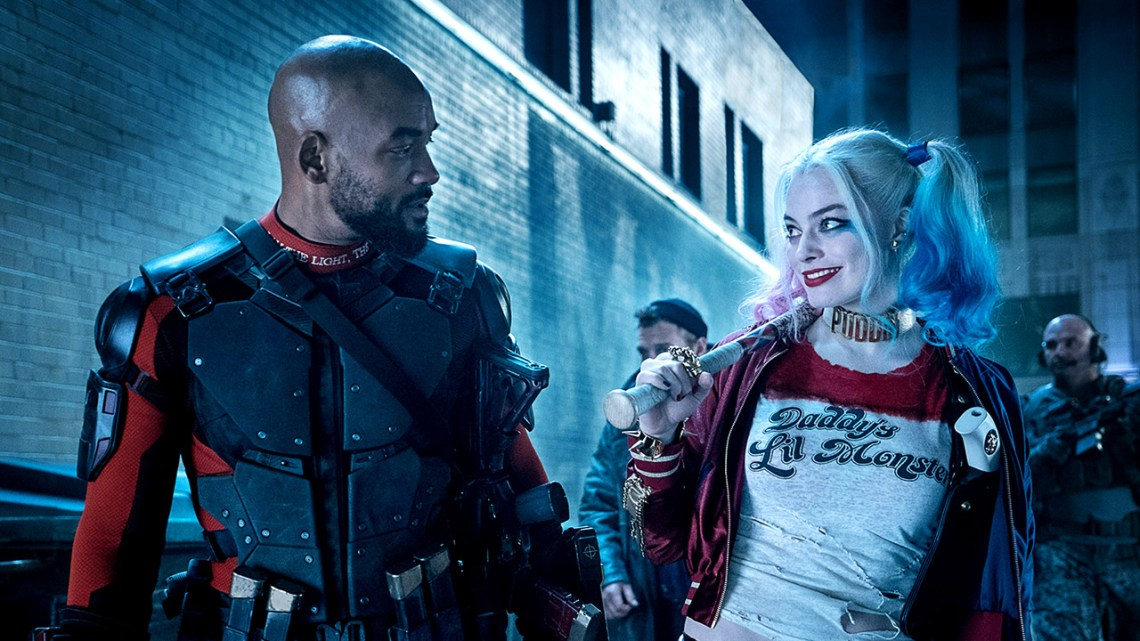 Will Smith and Margot Robbie in Suicide Squad Photo Courtesy of Warner Bros.