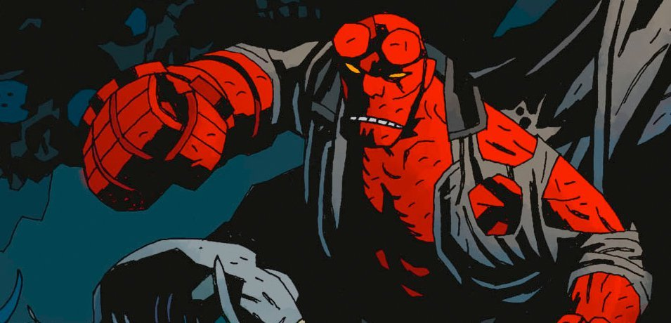 hellboy-comics-punching