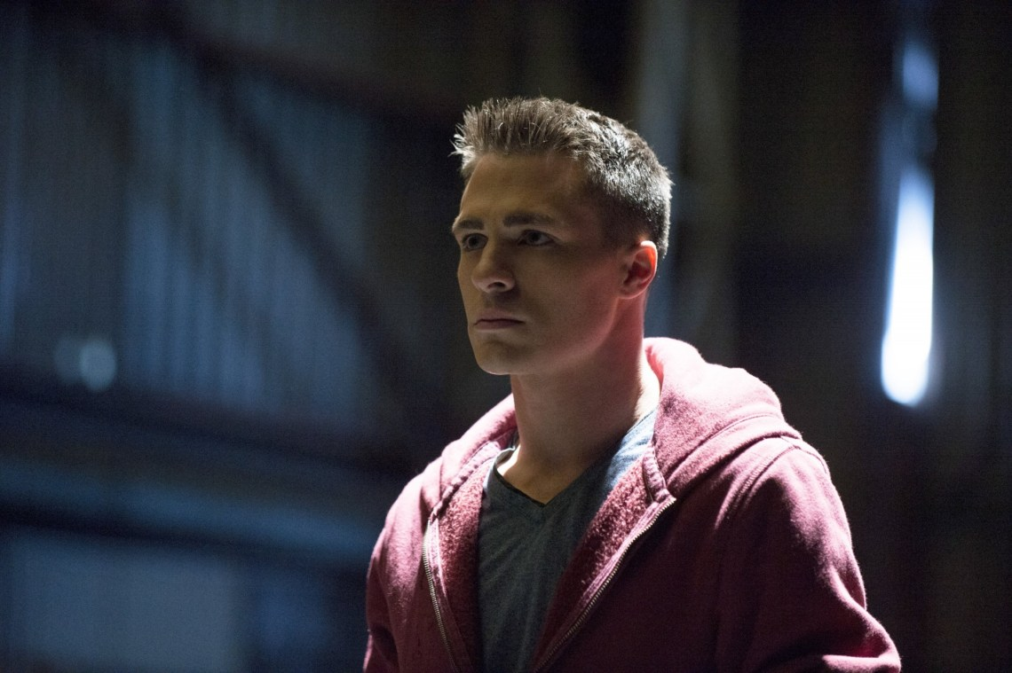 Colton Haynes as Roy Harper Courtesy of The CW
