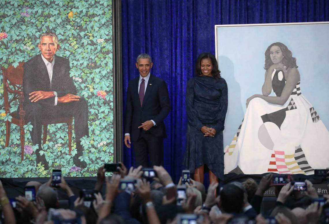 barack-michelle-obama-portraits