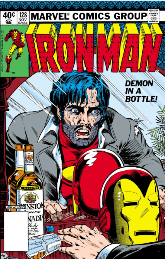 demon in a bottle marvel database