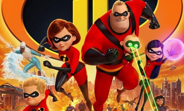Incredibles 2 Courtesy of Walt Disney Co./Pixar