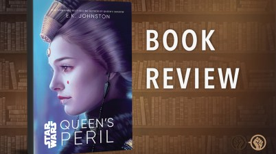 Queen's Peril - Book Cover