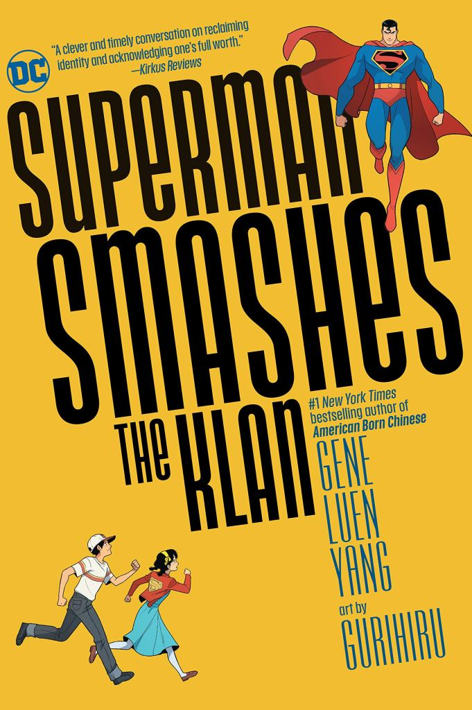 Superman Smashes The Klan - Cover