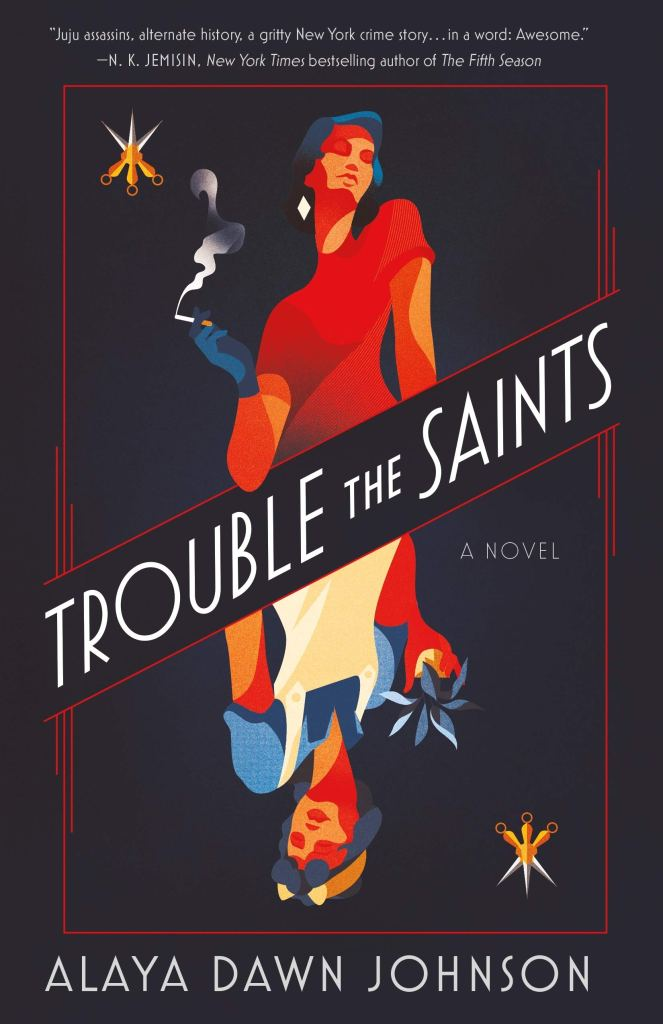 Cover for Trouble the Saints