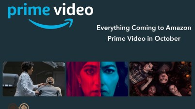 Everything Coming to Amazon Prime in October 2020