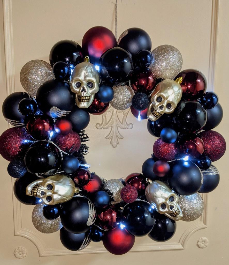 SYFY Halloween wreath
