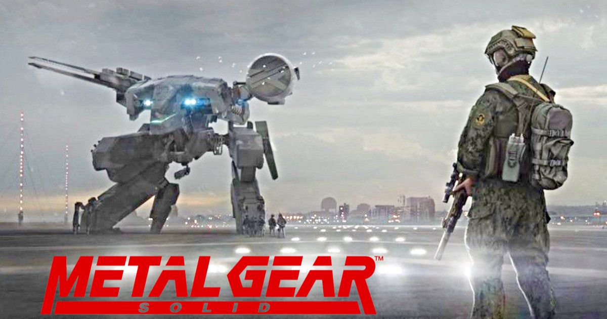 Metal Gear Solid Movie: Director Unveils New Concept Art On 31st Anniversary