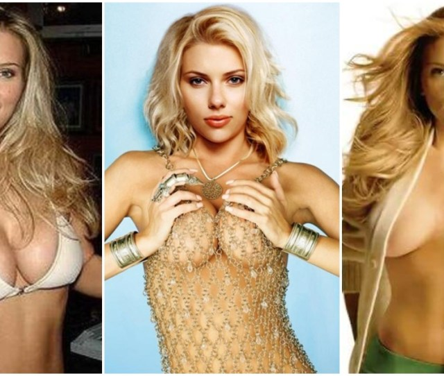 Sexy Scarlett Johansson Pictures Captured Over The Years