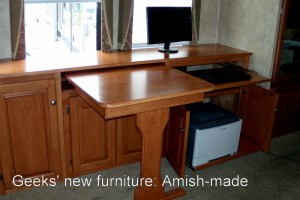 Geeks' New Furniture: Amish-made