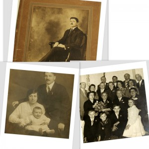 Snapping Old Family Photos