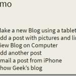 123. How do I make a blog?