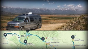 Do you plan road trips? I think you'll like Roadtrippers and RVParky.