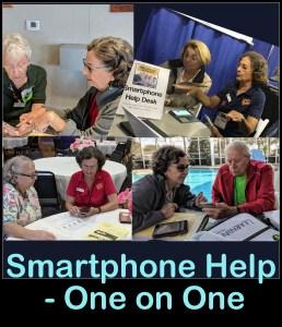 Smartphone Help Desk – One on One Teaching