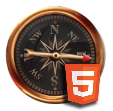 HTML 5 Canvas: An animated compass (4/4)