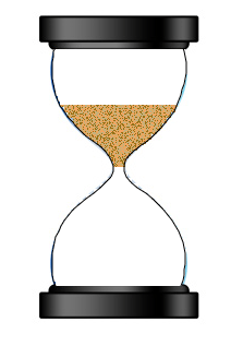 HTML5 Canvas - An egg timer (hourglass) with animated falling sand (3/5)