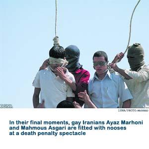 Gay Hanging Iran
