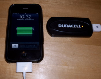 Duracell Instant Power Charger