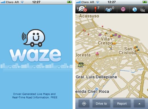 GeeksRoom Review: Waze GPS de estado del transito, llega a Argentina