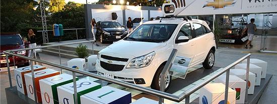 Primer auto con Wi-Fi en Argentina