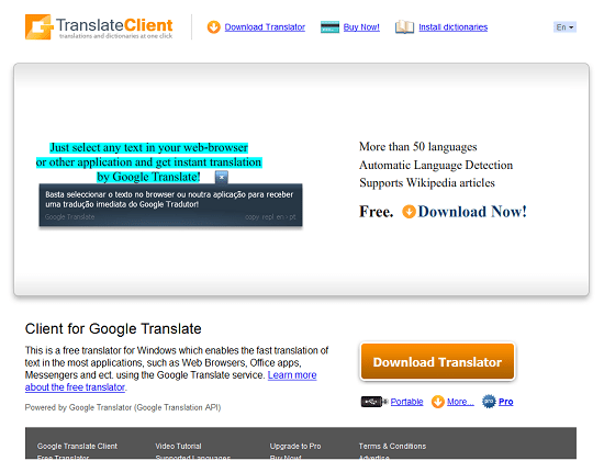 Translator Client