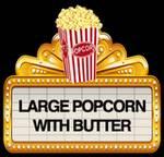 Una verdad que asusta: Los snacks de las salas de cine [Infografía]