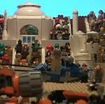 Precuela de Star Wars hecha con legos. Sencillamente fantástico [Vídeo]
